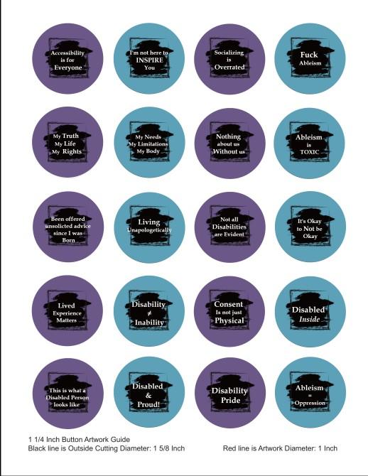 OARCID Slogan Buttons